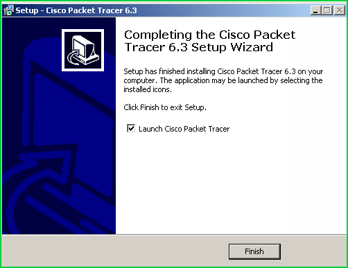 Launch Cisco Packet Tracer