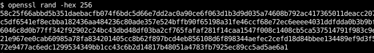 Generate With Openssl