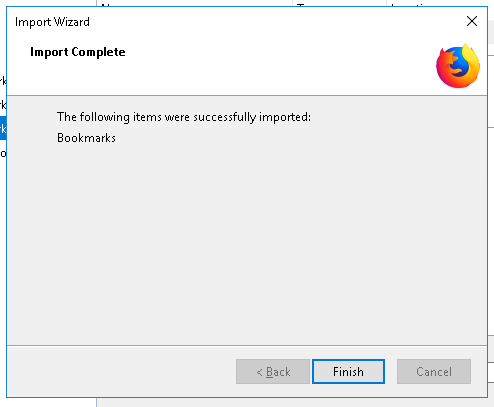 Import Bookmarks From Google Chrome Browser